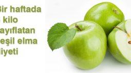Yeşil Elma Detoks Suyu Tarifi